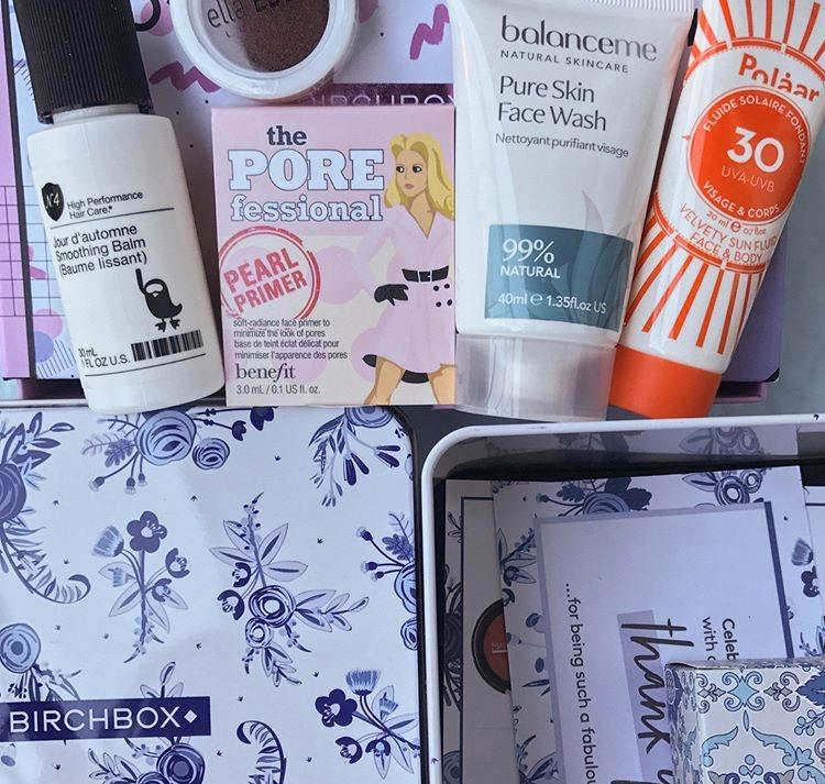 Birchbox August Subscription Box