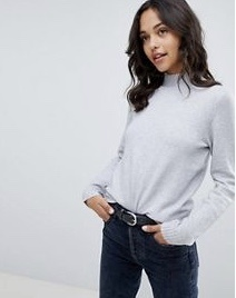 Vila High-Neck Knitted Sweater