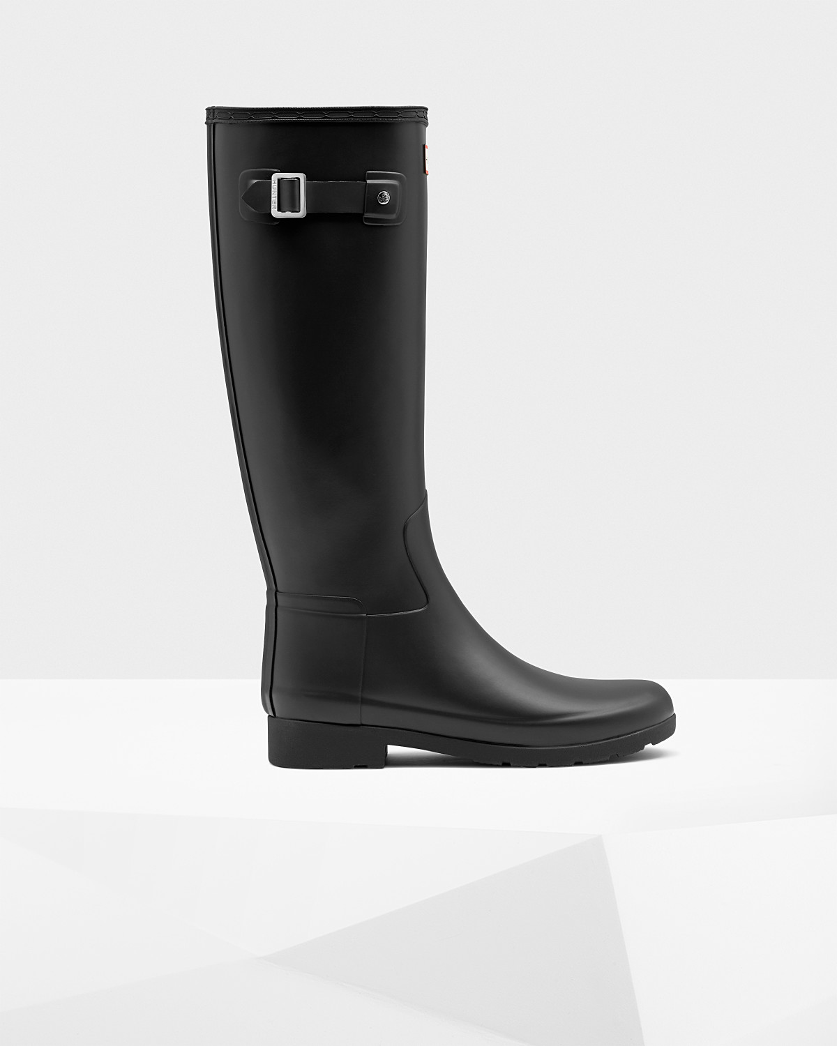 Black Refined Hunter Boots