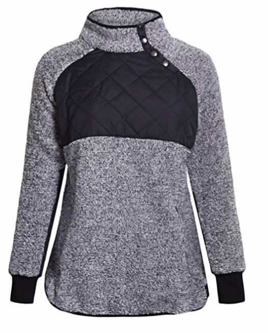 Amazon Fashion Grey Pullover Jumper