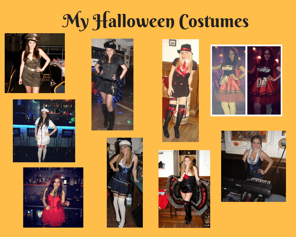 My Halloween Costumes Over The Years