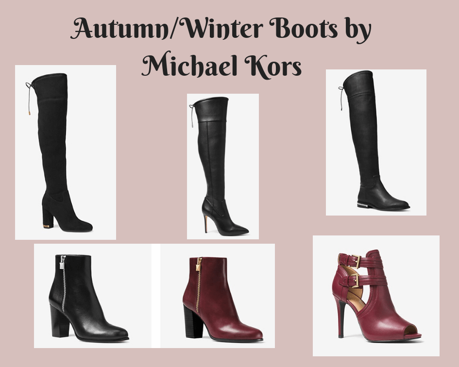 My Favourite Autumn Winter Boots for 2018 by Michael Kors