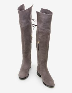Boden Pewter Bray OTK Boots