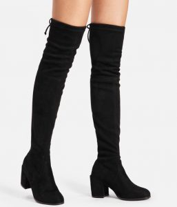 Shein Over The Knee Boots