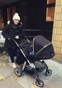 Out For A Walk With Baby