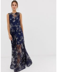 Bronx & Banco Aurora Embellished Gown