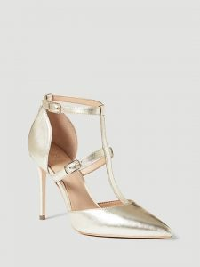 Guess Metallic Leather Sandals