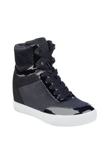 Guess Logo Wedge Sneakers