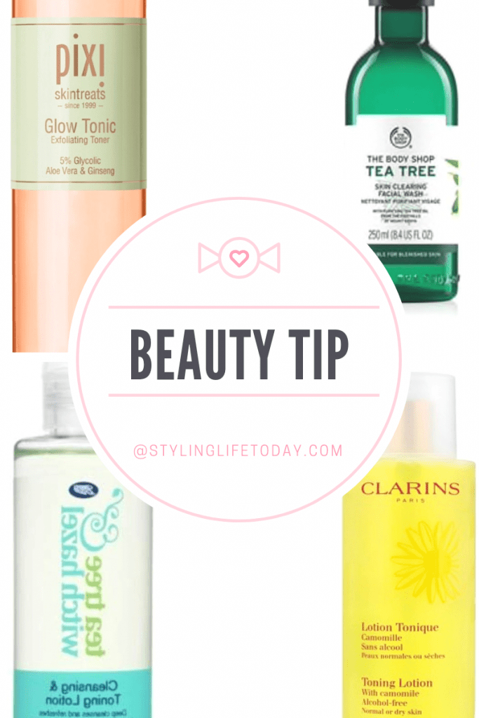Beauty Tip: Toner